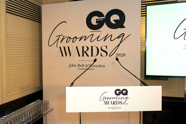 Best Wellness Experience award  at The GQ Grooming Awards 2020