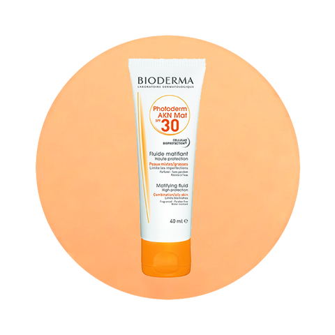 Bioderma Photoderm AKN Mat SPF30 Matifying Fluid