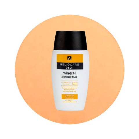 Heliocare 360° Mineral Tolerance Fluid SPF50