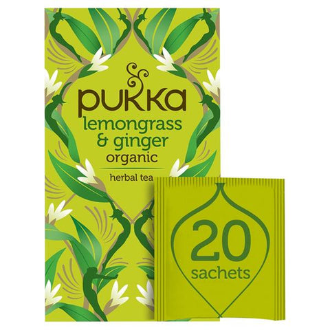 Pukka Lemongrass tea