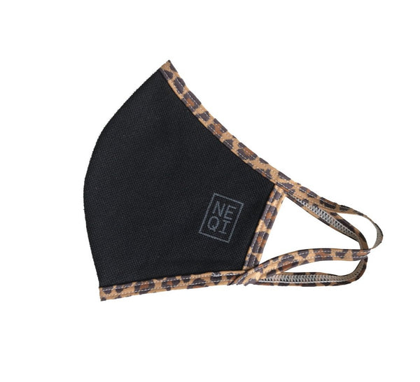 Reusable Face Mask - 3 Pack (Adult S/M-Leopard)