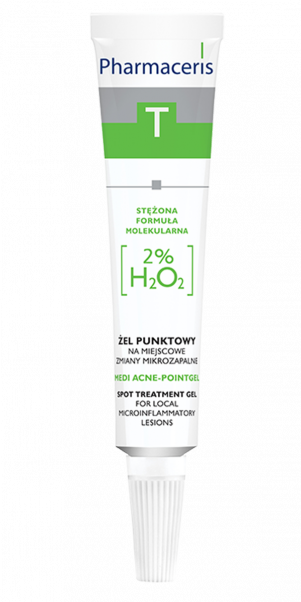 PHARMACERIS T Medi-Acne Point Gel 2% H2O2