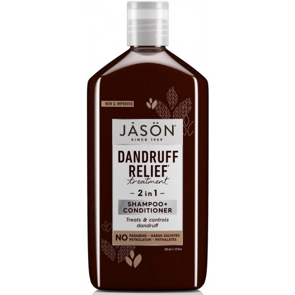 JASON Dandruff Relief 2 in 1 Treatment Shampoo + Conditioner