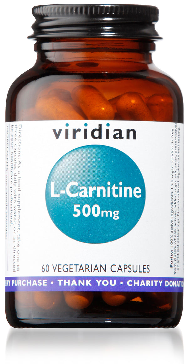 L-Carnitine 500mg Veg Caps