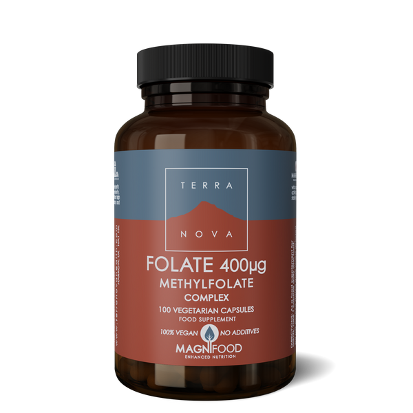 TERRANOVA Folate (Methyfolate) 400Ug Complex