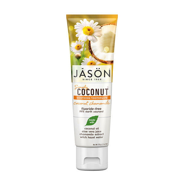 JASON Simply Coconut Chamomile Toothpaste