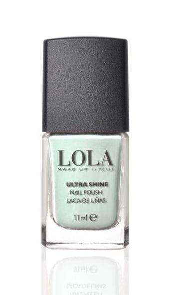 LOLA Ultra Shine Nail Polish Hint of Mint 051