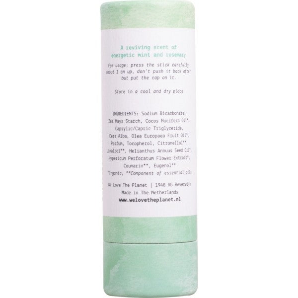 Natural Deodorant Stick-Mighty Mint