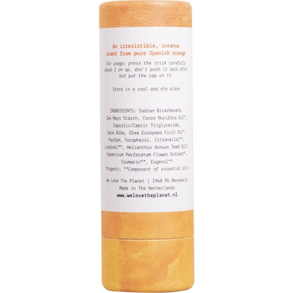 Natural Deodorant Stick-Original Orange