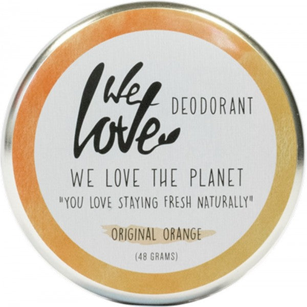 WE LOVE THE PLANET Natural Deodorant Cream-Original Orange