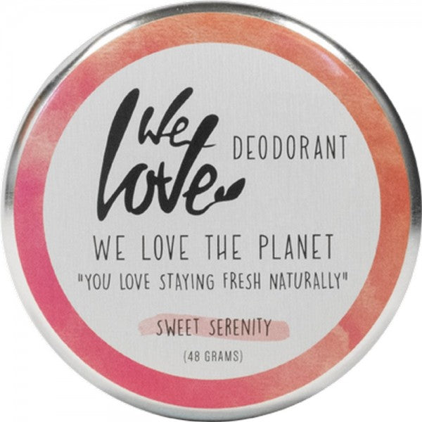 WE LOVE THE PLANET Natural Deodorant Cream-Sweet Serenity