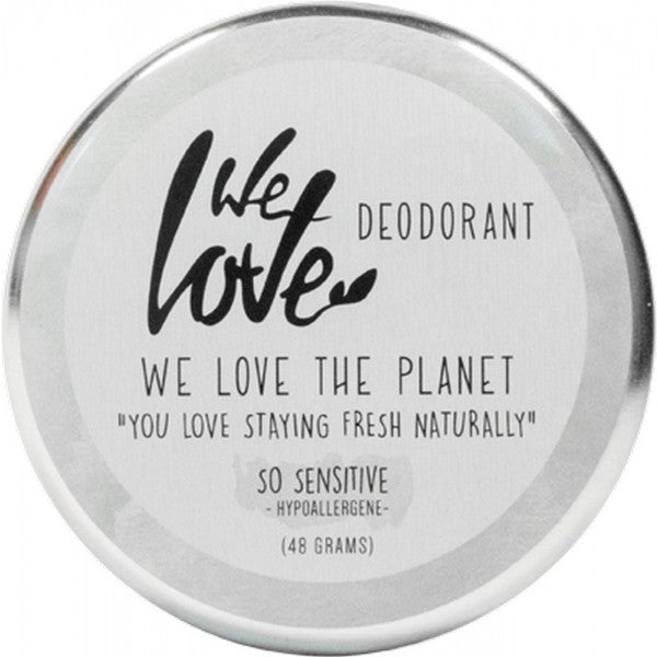 WE LOVE THE PLANET Natural Deodorant Cream-So Sensitive
