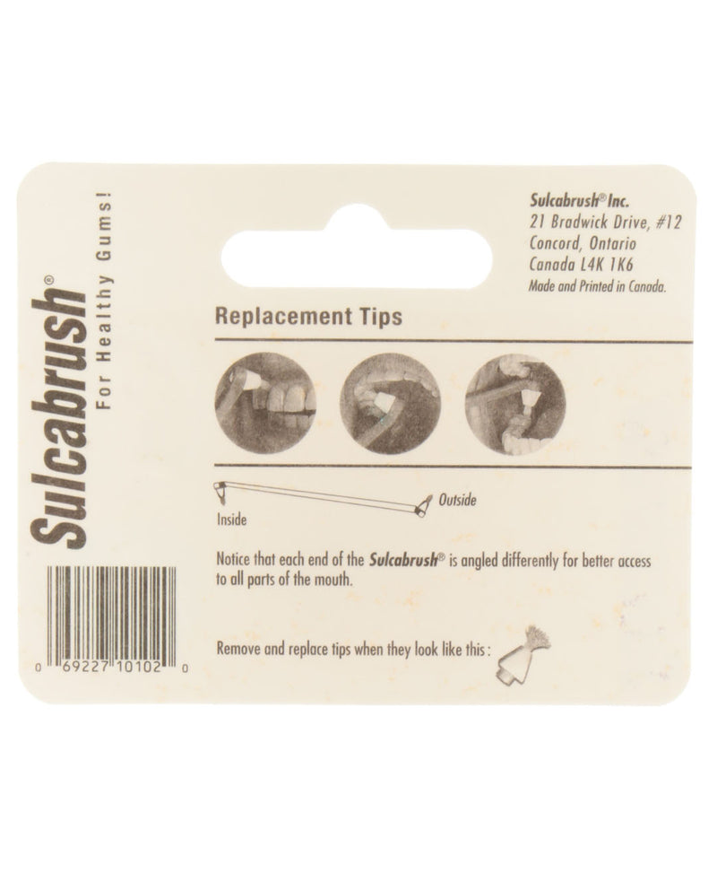Sulcabrush Replacement Tips