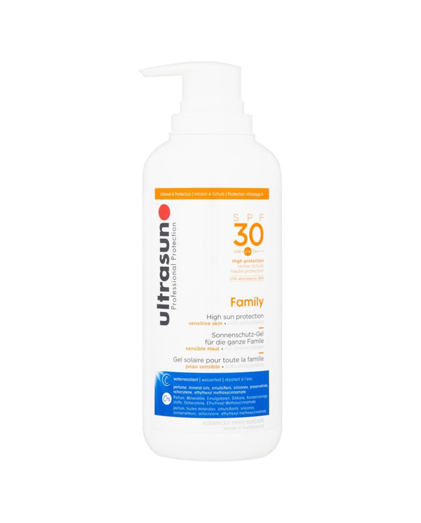 ULTRASUN Professional Protection SPF 30 High Protection Family Gel
