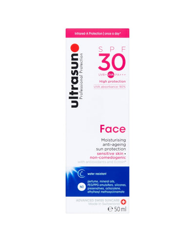 ULTRASUN Professional Protection SPF30 Face Moisturising Anti-Ageing Sun Protection