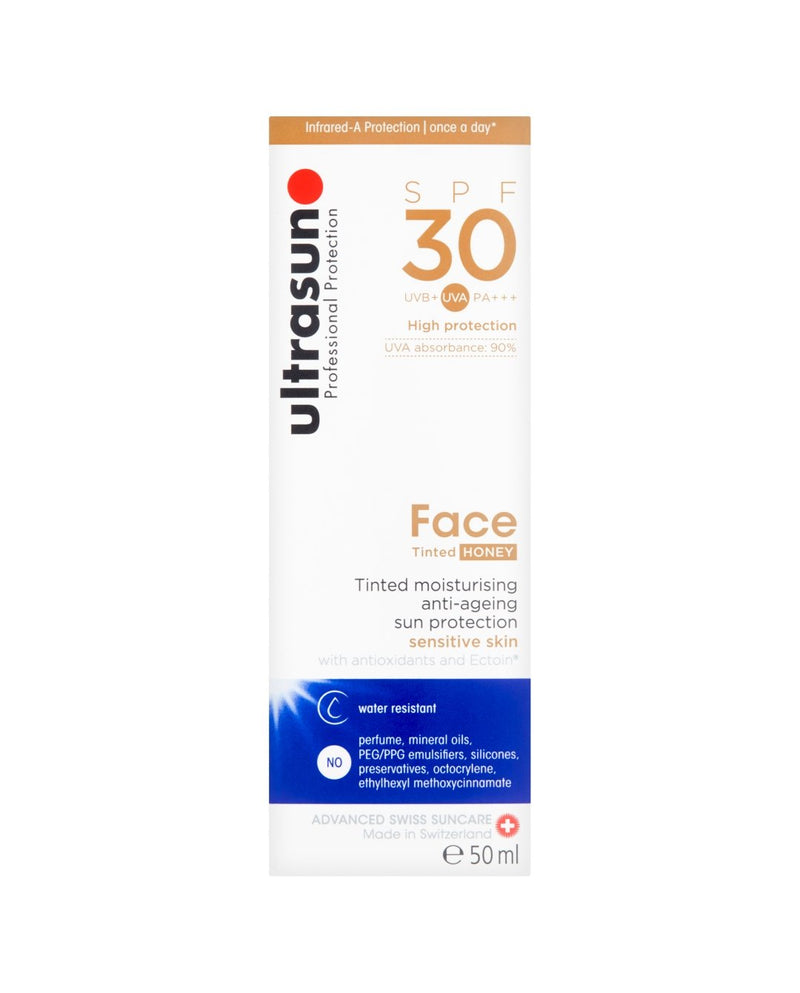 ULTRASUN Professional Protection 30SPF Face Tinted Honey