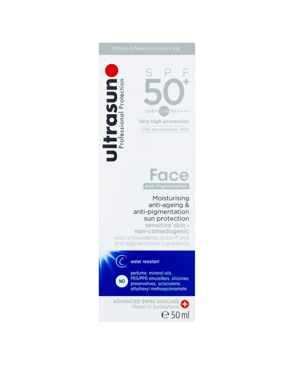 ULTRASUN Professional Protection SPF50+ Face Anti-Pigmentation