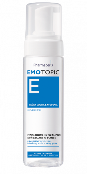 PHARMACERIS E Physiological Moisturising Foam Shampoo