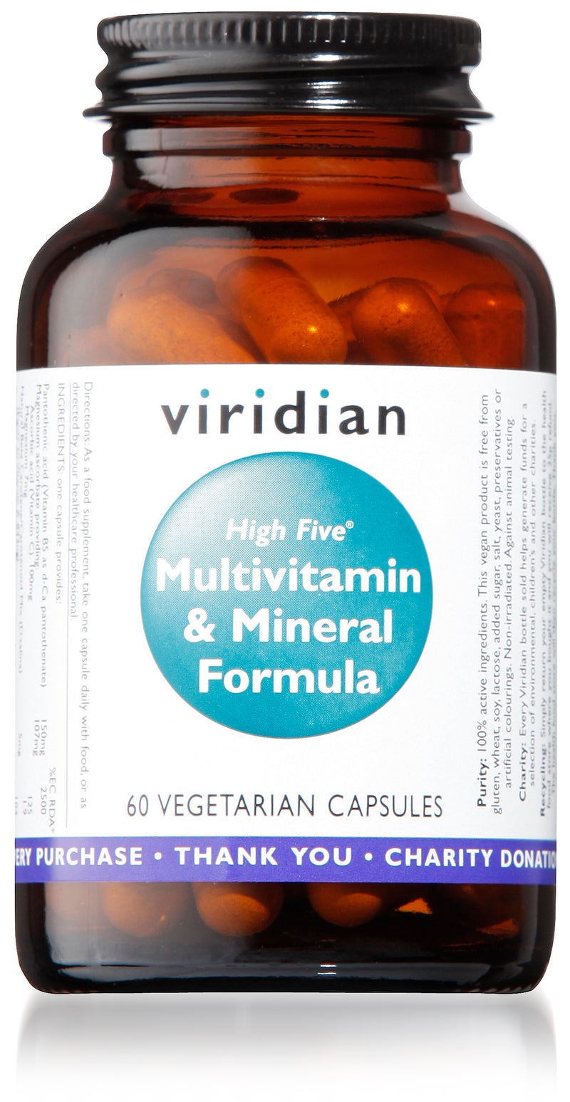 High Five™ Multivitamin & Mineral Formula Veg Caps