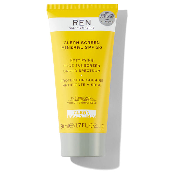 REN CLEAN SKINCARE Clean Screen Mineral SPF 30 Mattifying Face Sunscreen