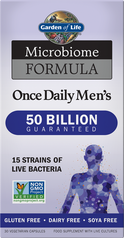 GARDEN OF LIFE Microbiome Formula Once Daily Men's