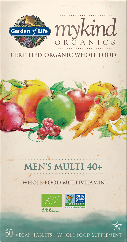 GARDEN OF LIFE Mykind Organics Men's 40+ Multi