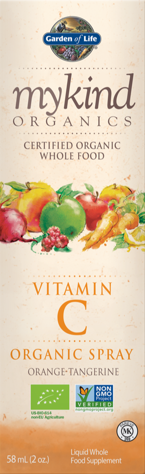 GARDEN OF LIFE Mykind Organics Vitamin C Spray (Orange/Tangerine)