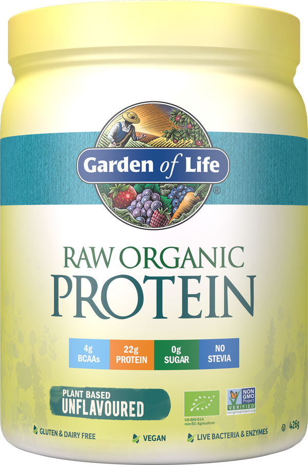 GARDEN OF LIFE Raw Organic Protein Unflavoured