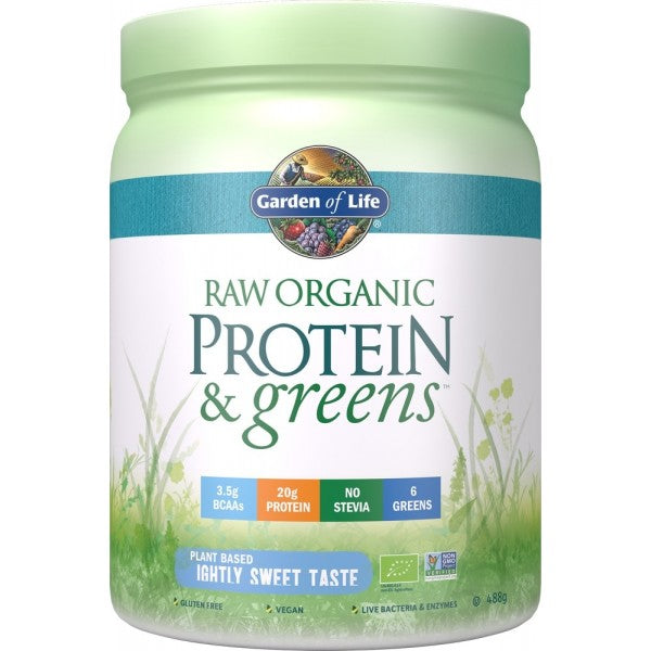 Raw Organic Protein & Greens Lightly Sweet