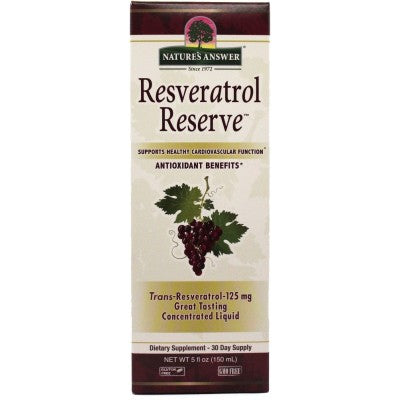 NATURE'S ANSWER Resveratrol Reserve Complex