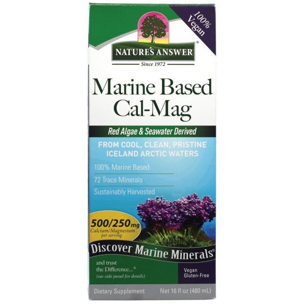 NATURE'S ANSWER Marine Based Cal / Mag 500mg / 250mg