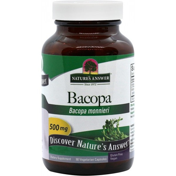 NATURE'S ANSWER Bacopa 500mg