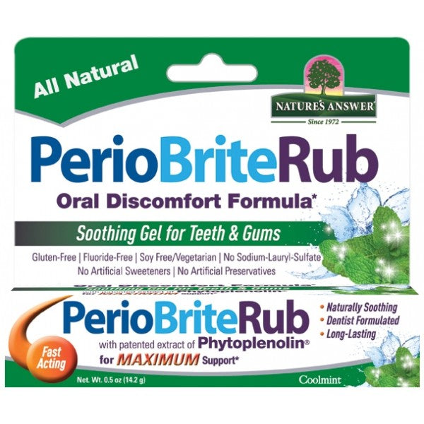 NATURE'S ANSWER Perio Rub Soothing Gel (Tooth & Gum)