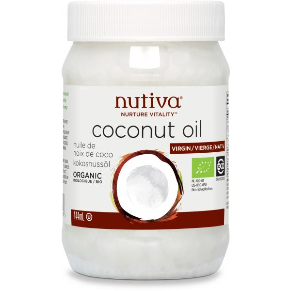 NUTIVA Organic Extra Virgin Coconut Oil