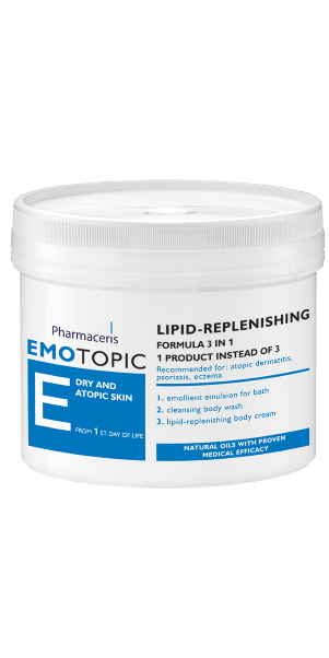 PHARMACERIS E Lipid-Replenishing Formula 3 In 1