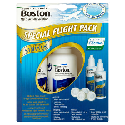 Boston Multi action Solution Special Flight Pack 2 x 60ml