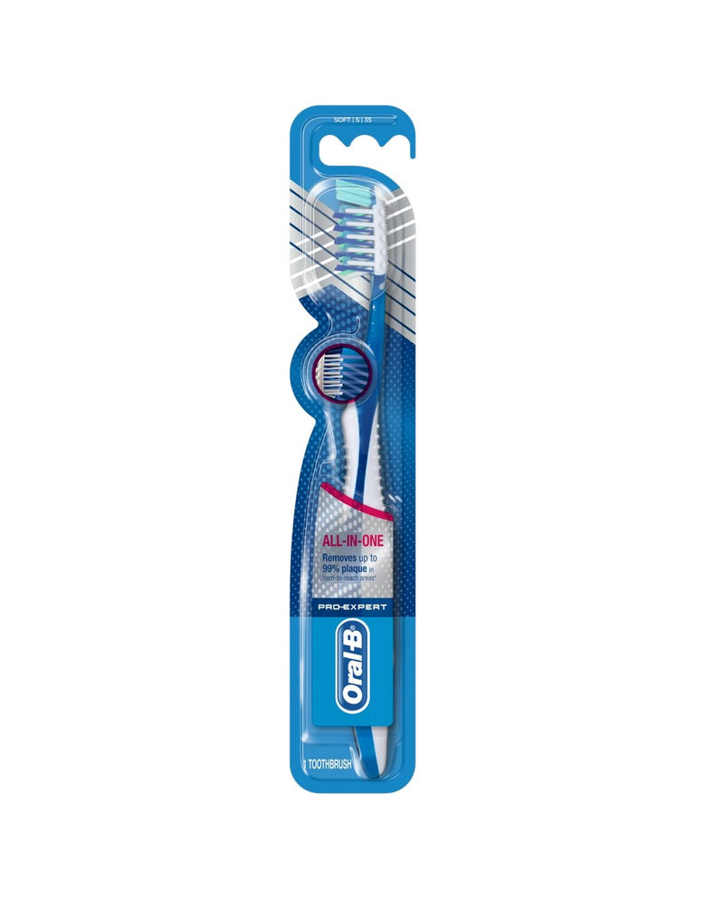 Pro-Expert Cross-Action Soft Toothbrush