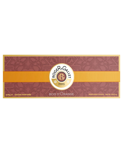 ROGER & GALLET Bois d' Orange Perfumed Soaps