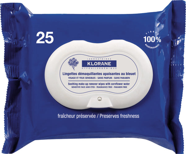 KLORANE Make Up Removal Wipes