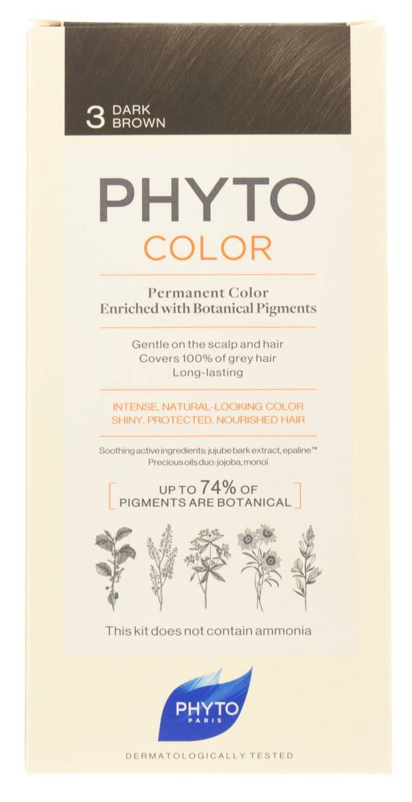 PHYTO Phytocolor 3 Dark Brown