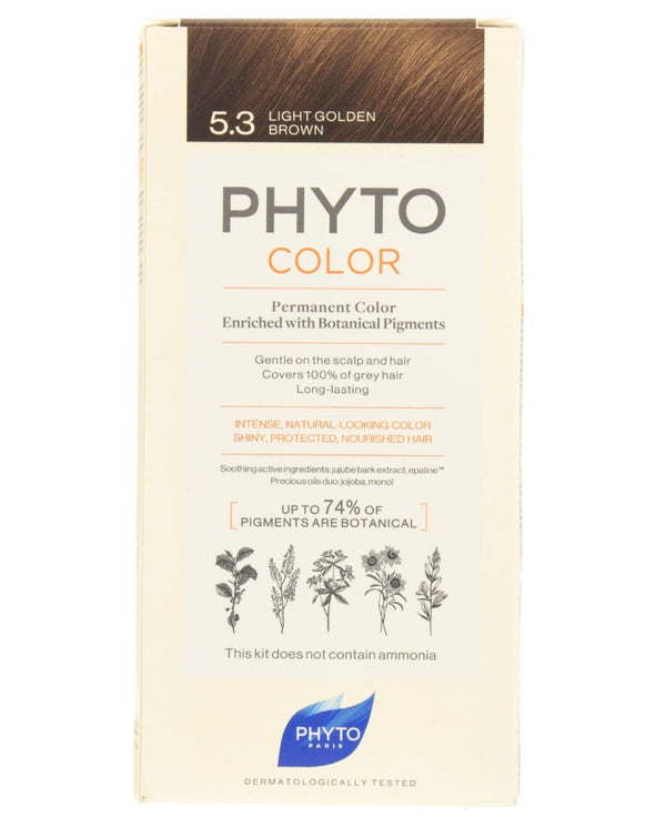 PHYTO Phytocolor 5.3 Light Golden Brown
