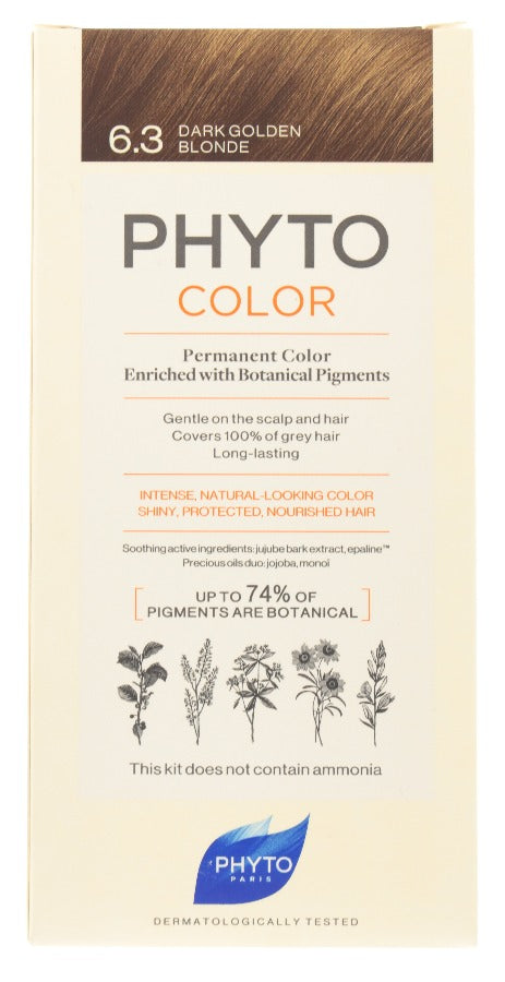 PHYTO Phytocolor 6.3 Dark Golden Blonde