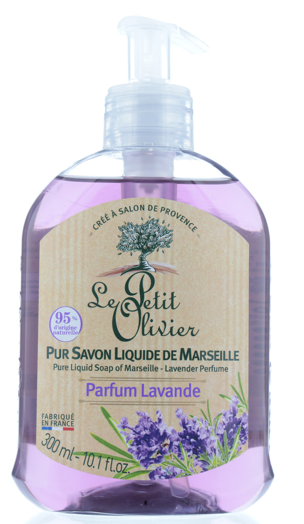 LE PETIT OLIVIER Pure Liquid Soap Of Marseille - Lavender