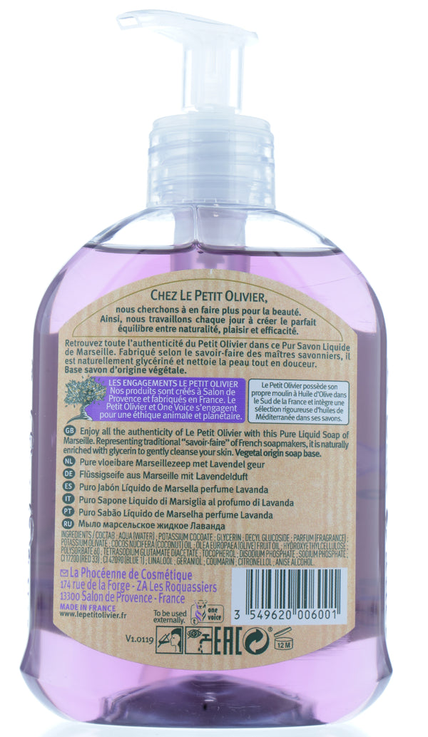 Pure Liquid Soap Of Marseille - Lavender