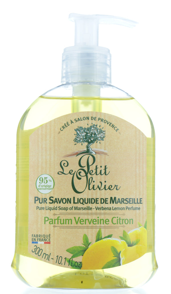LE PETIT OLIVIER Pure Liquid Soap Of Marseille - Verbena Lemon