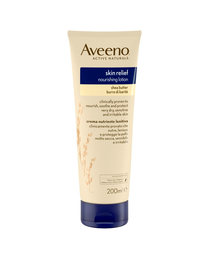 AVEENO Skin Relief Nourishing Lotion Shea Butter