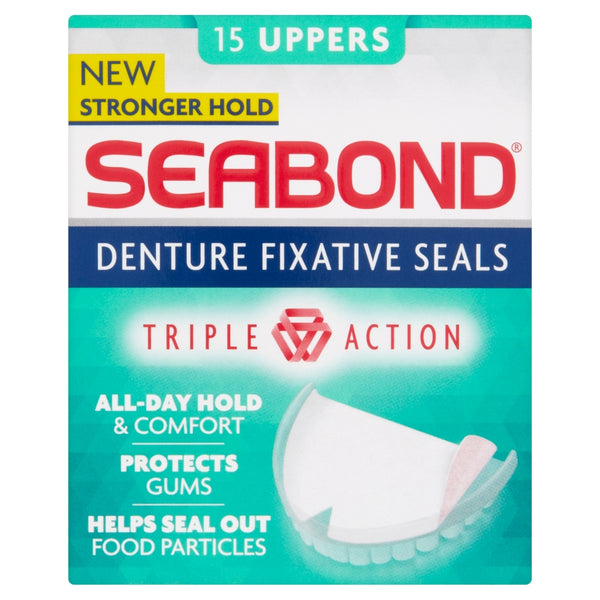 SEABOND Denture Fixative Seals Uppers