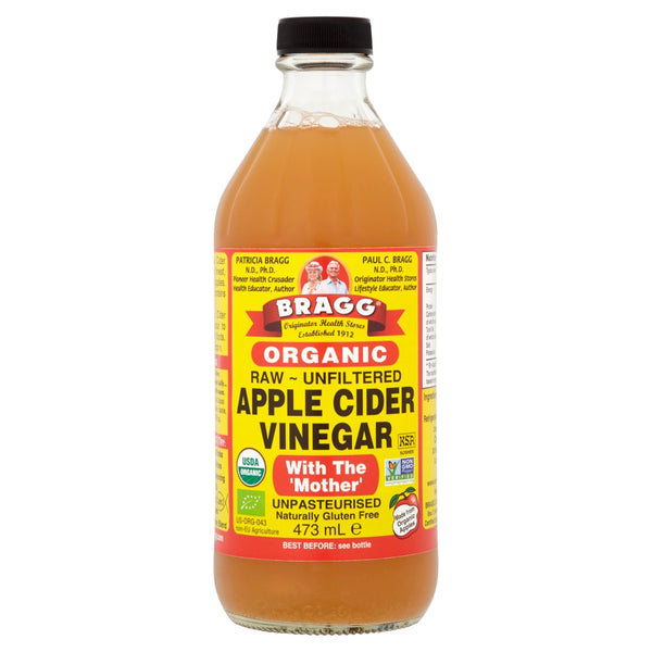BRAGGS Organic Apple Cider Vinegar with the Mother