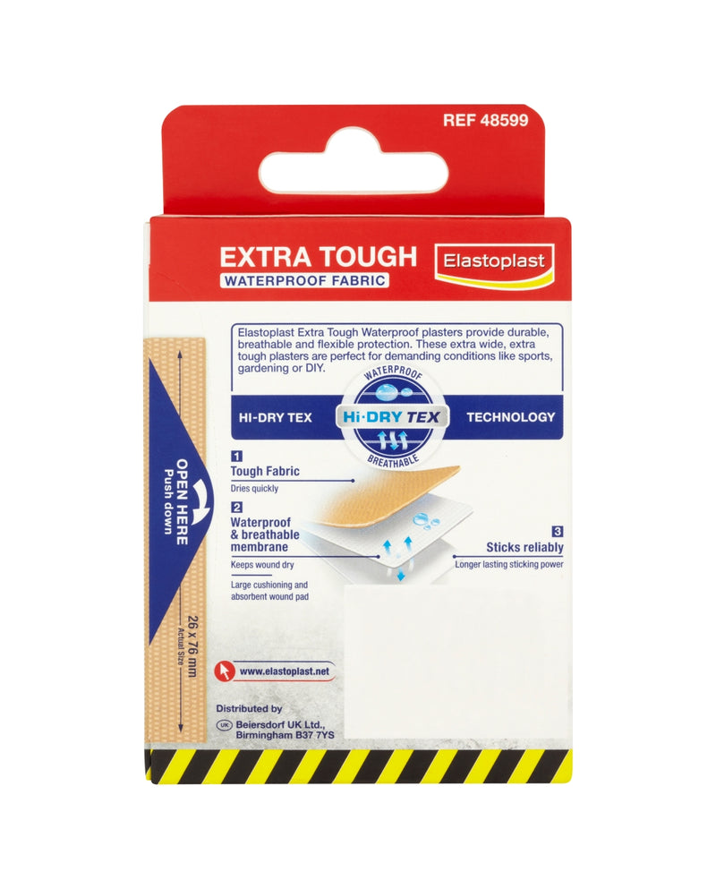Extra Tough Waterproof  Plasters