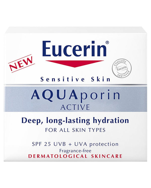 EUCERIN Aquaporin Active Hydration SPF 25 UVB + UVA Protection